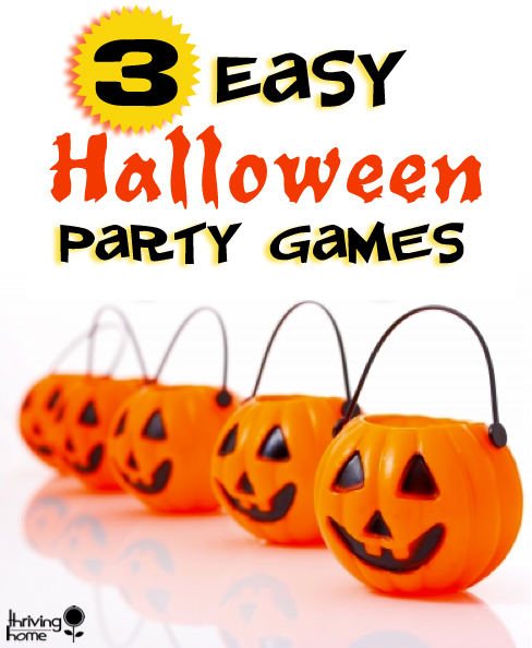 easy halloween party games - Game Ideas For Halloween Party