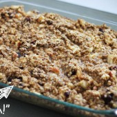 Baked Oatmeal: Updated and Healthier {Freezer Meal}