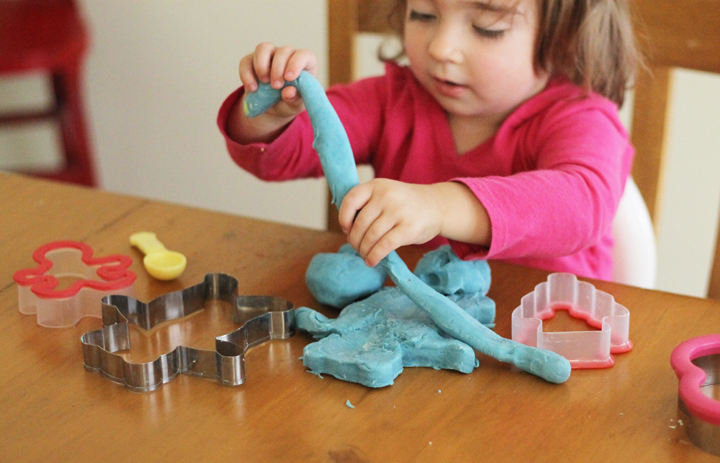 DIY homemade play dough is a cinch to make. Enjoy the process with just a few ingredients. Your kids will love helping you whip up a batch.