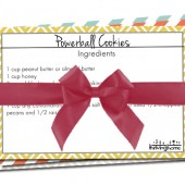 "New Printables: 5 ""Home Run"" Recipe Cards"
