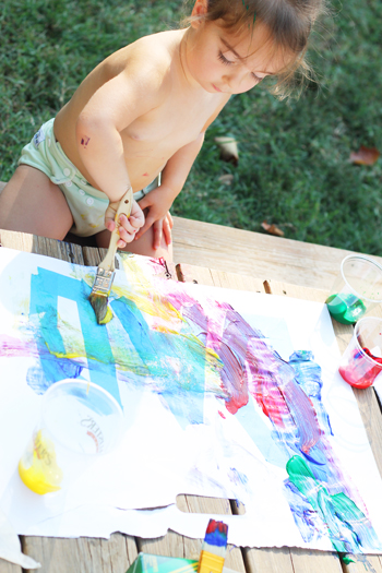 toddler painting craft
