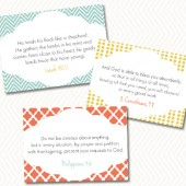 A Mother's Day Special: 25 Encouraging Verse Cards
