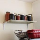 Repurposed Cabinet Door Idea