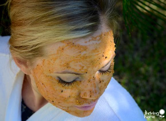 Pumpkin Coffee Faciel Mask