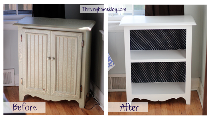 Repurposed Cabinet Door Idea Thriving Home