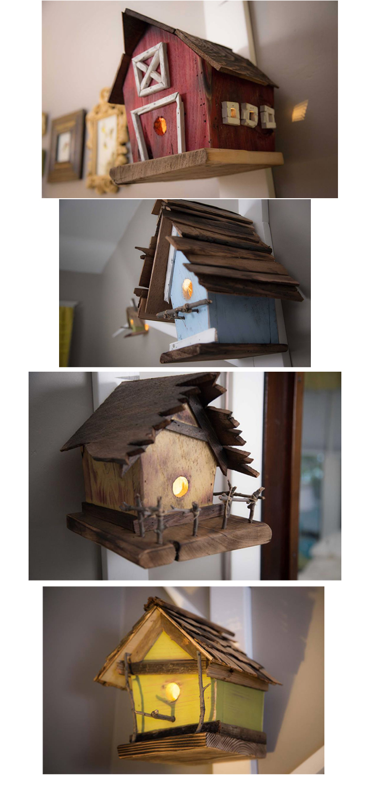 birdhouses for nursery