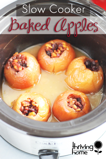 These baked apples are SO good! This recipe is also packed with healthy, natural ingredients but could easily be served as a dessert.