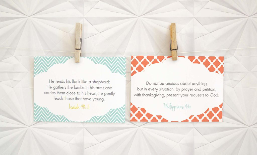 verse cards for moms