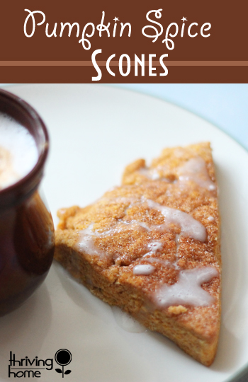 healthy pumpkin scone recipe