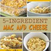 Whole Wheat 5-Ingredient Mac and Cheese Recipe