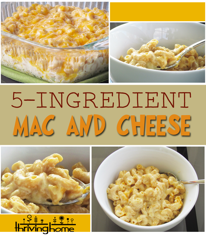... creamy mac and cheese all while skipping the processed, boxed stuff