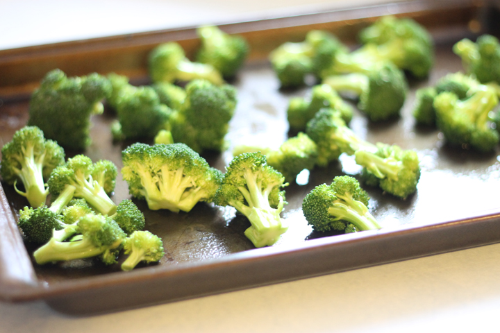 Oven roasted broccoli is the perfect side dish for your next meal. It is perfectly crispy and has fantastic flavor because of the olive oil and sea salt.