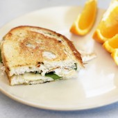Lunch Favorite: Turkey Pesto Paninis