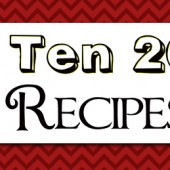 2013 Top Ten Posts: Recipes