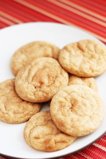 If you're looking for the BEST snickerdoodle recipe, stop. You've found it.