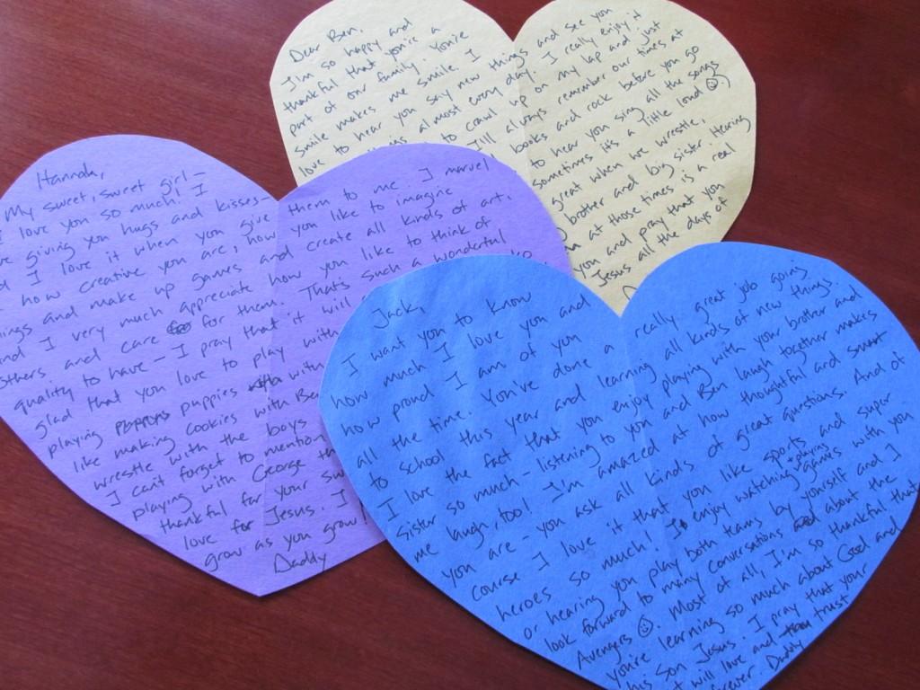 valentine's day scavenger hunt for kids
