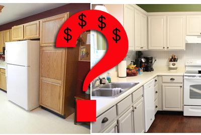 Budget Breakdown of the Kitchen Flip