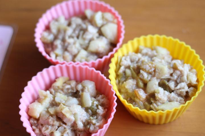 pear apple oatmeal