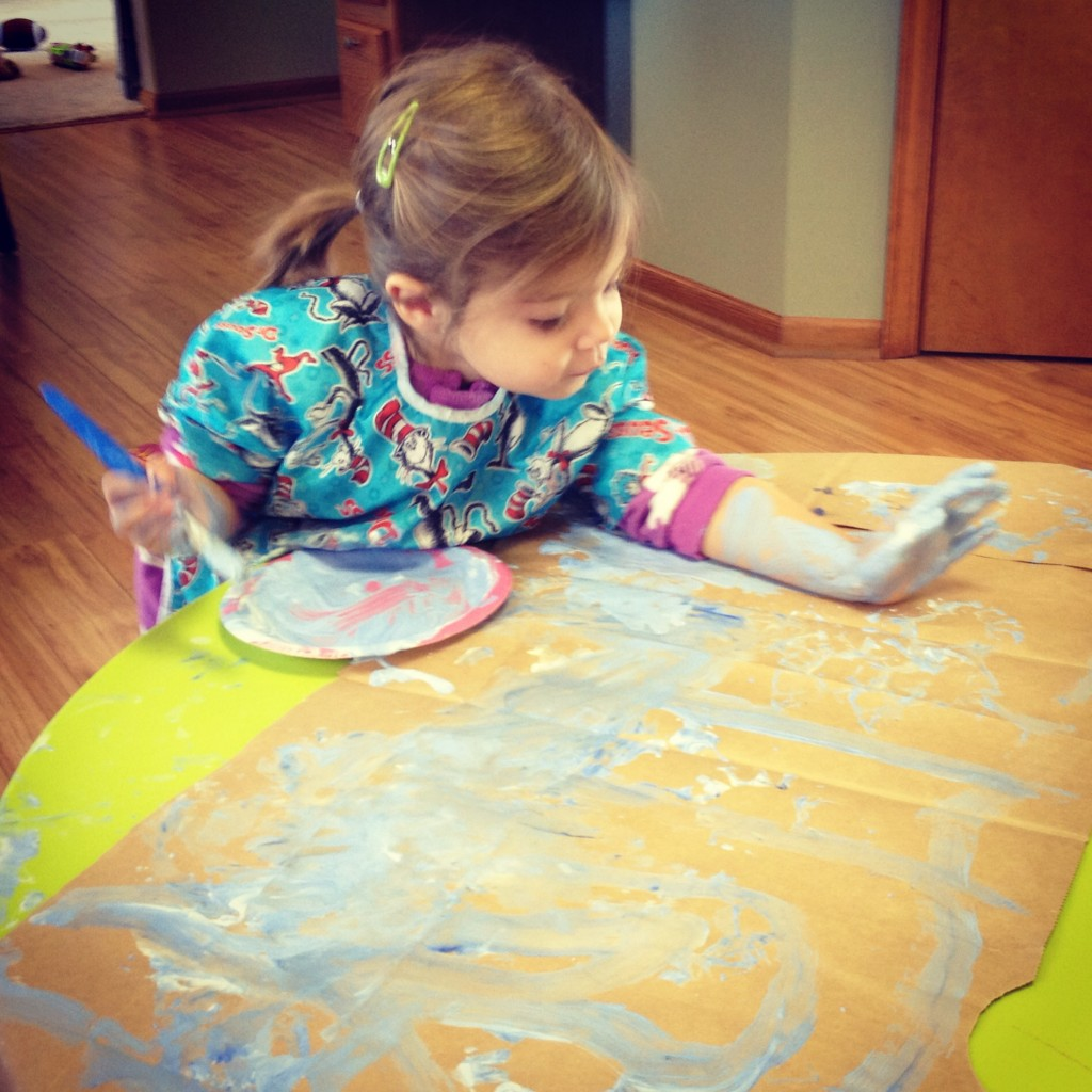 7 indoor snow day activities for kids thriving home for Indoor crafts for kids