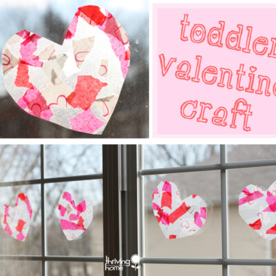 EASY Valentine Craft Idea for Toddlers and Kids