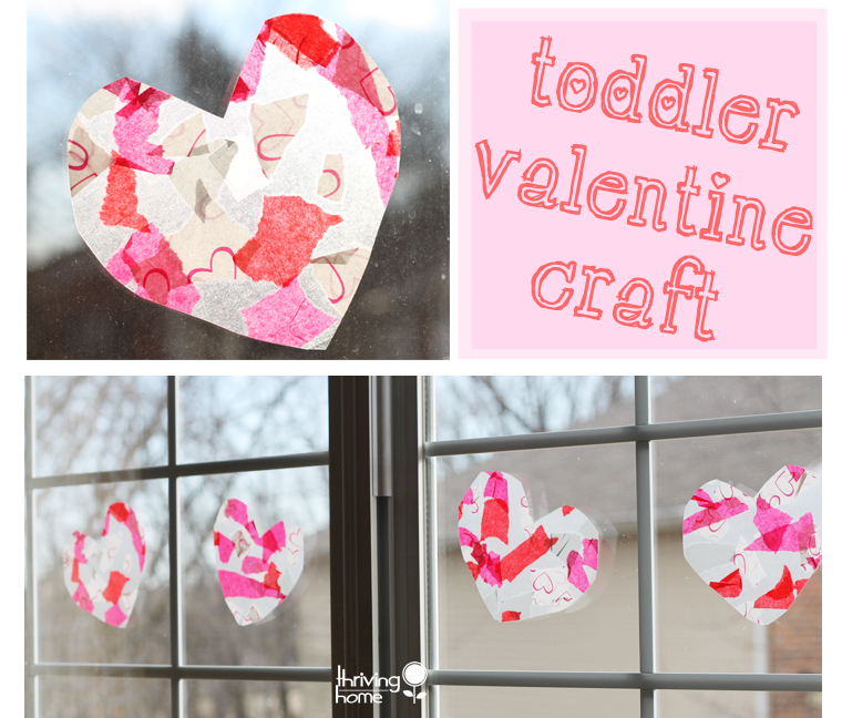 Easy valentine craft idea for toddlers and kids thriving for Toddler valentine craft ideas