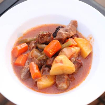 No Peek Stew Recipe {Freezer Meal}