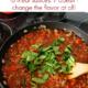 Put spinach in marinara sauce to add nutrition.