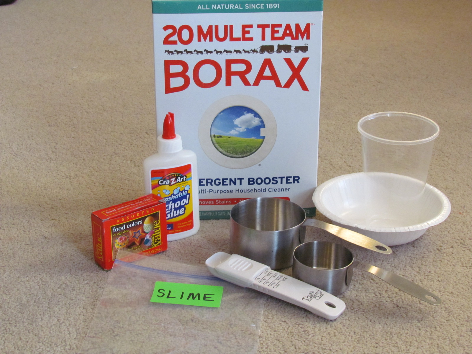 Science Birthday Party: How to Make Slime | Thriving Home - photo#3