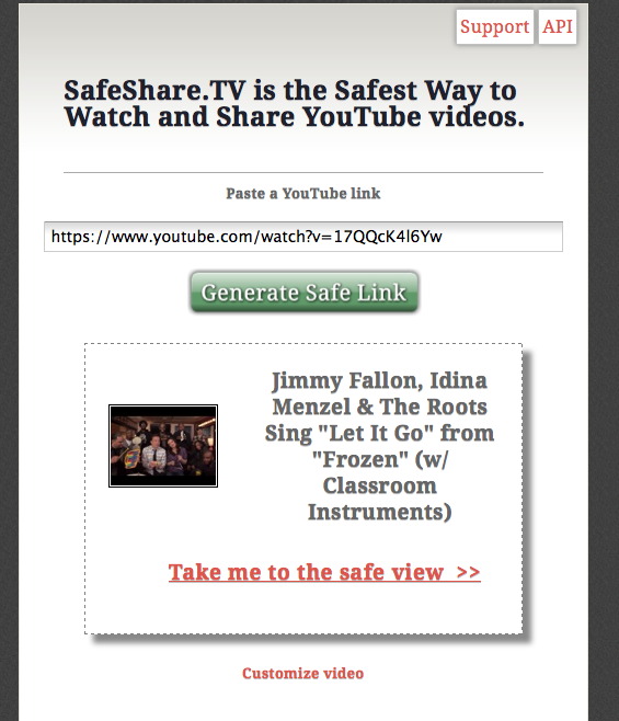 safe way to view youtube videos