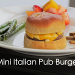 Mini Italian Pub Burgers Recipe