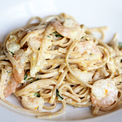 Creamy Citrus Pasta Recipe