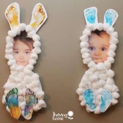 Easter Craft Idea: Little Bunnies