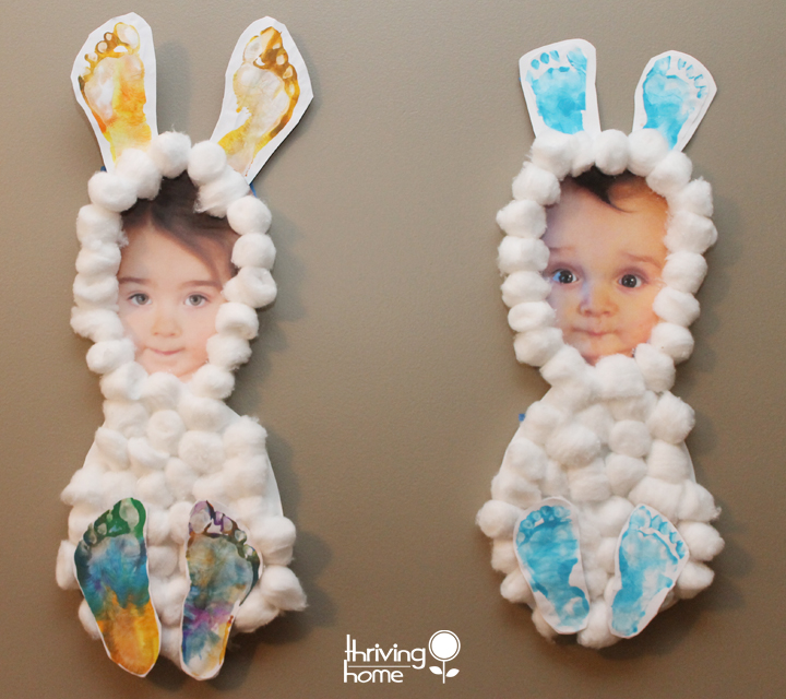 Easter Craft Idea: Little Bunnies
