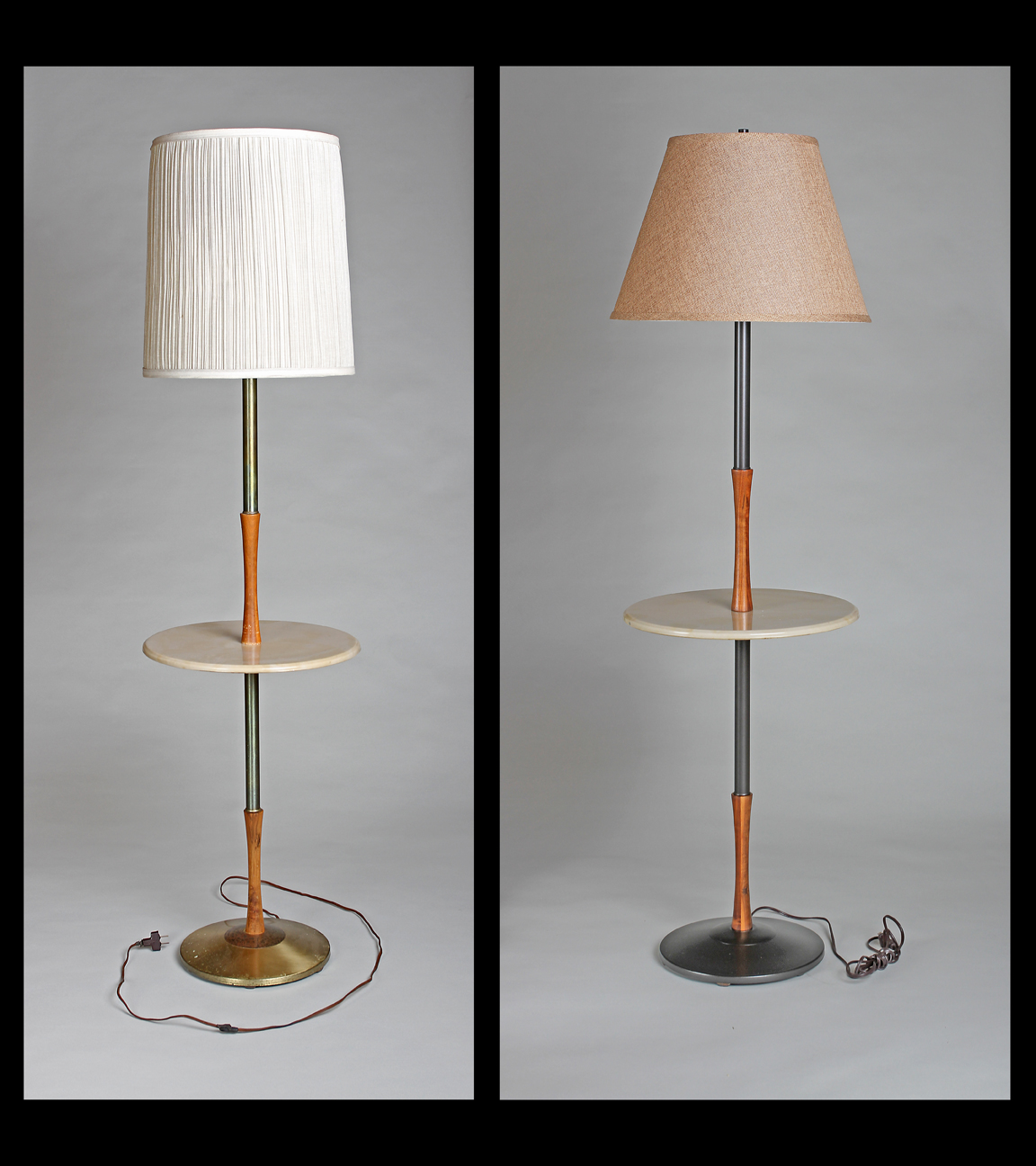 Charming How To Refinish An Old Lamp