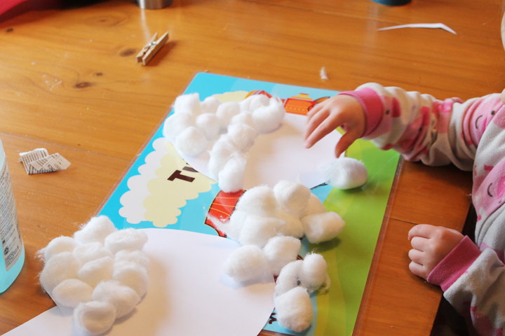 easter craft with picture