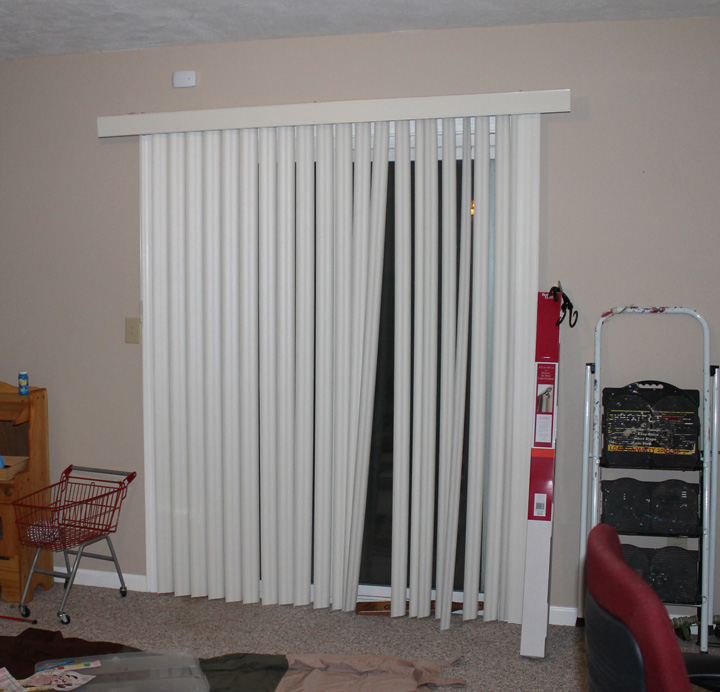 sliding door blinds need update