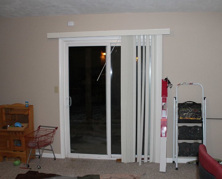 update sliding door blind