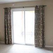 An Easy Way to Update a Sliding Door Blind