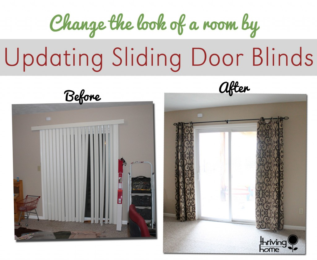 updating sliding door blinds