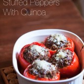 Stuffed Peppers with Quinoa Recipe
