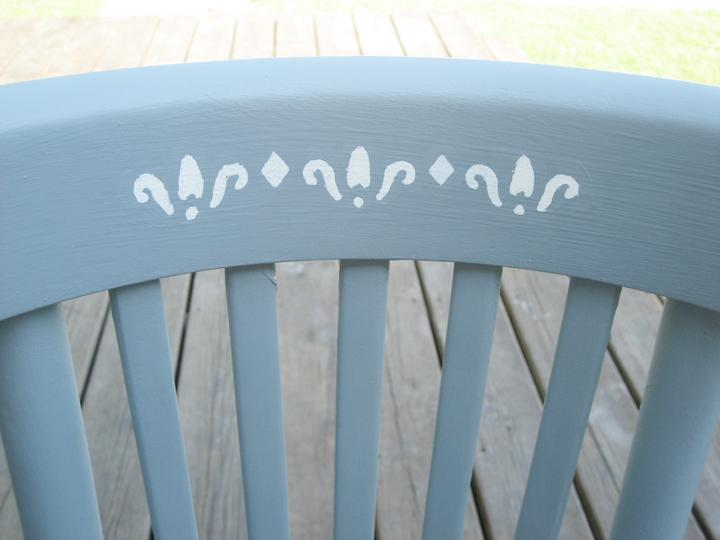 chair stencil