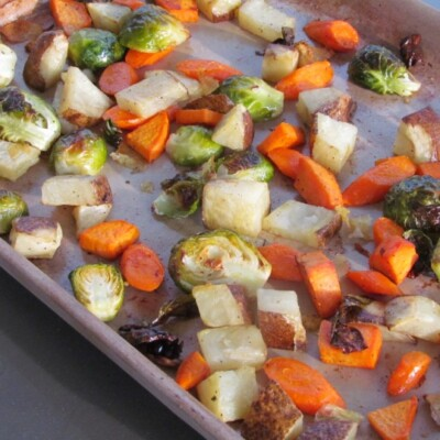Basic Roasted Vegetables Recipe