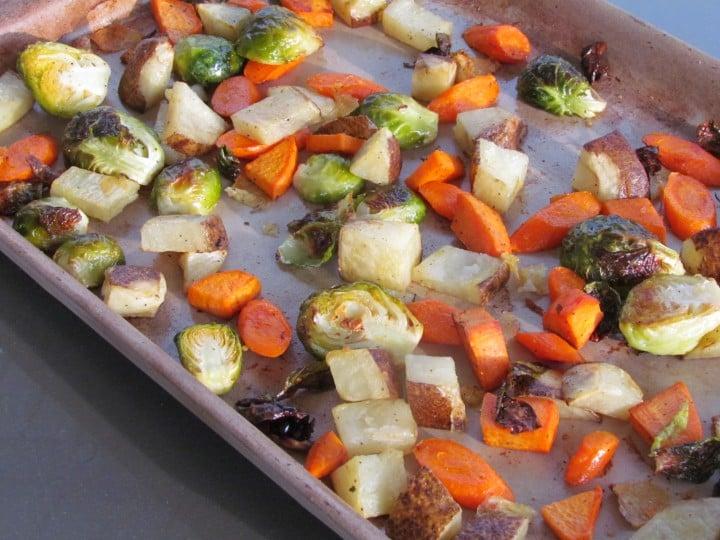 Basic Roasted Vegetables Recipe