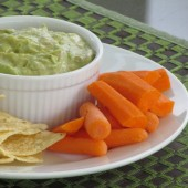 Creamy Avocado Dip: For One or For a Crowd