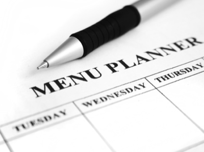 Menu Plan: March 9-15