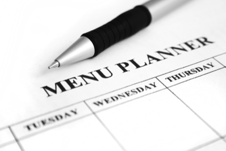 Real Food Menu Plan: September 1-7