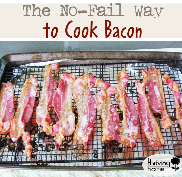 This less-mess, no-fail way to cook bacon will become the only way you'll ever prepare it. It's just so smart to fix it this way!