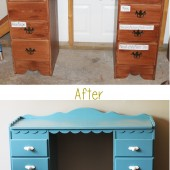 Dramatic Desk Makeover (+ $100 Giveaway!)