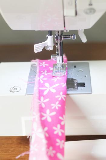 easy fabric flower making