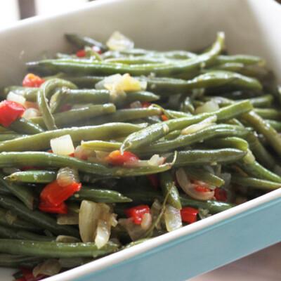 Crowd Pleaser Green Beans